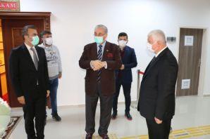 Prof. Aydın Of'ta 12.sınıf öğrencileriyle buluştu