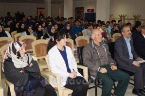 Prof. Dr. Göktaş mezun olduğu okulda öğrencilerle
