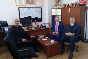 Prof. Köktaş Serince'de İmam Hatip öğrencileriyle