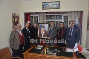 Ressam Aydın'dan Ayaz'a portre sürprizi