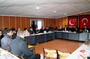 Saadet Gençliği, 6. ilçe başkanları toplantısında