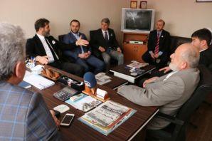 Saadet'in Büyükşehir Adayı Saka'dan Of Medya Derne