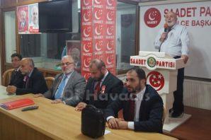 Saadet'in Trabzon adayları Of teşkilatıyla buluştu