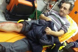 Oflu Gazeteci Sadullah Dervişoğlu'na bıçaklı saldı