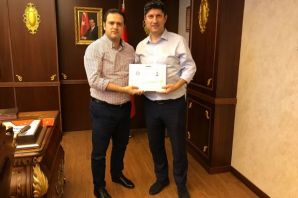 Kaymakam Fırat'tan Sağlık çalışanlarına teşekkür