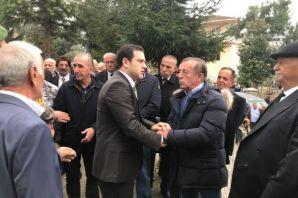 Sarayköy Muhtarı Ağaoğlu son yolculuğuna uğurlandı