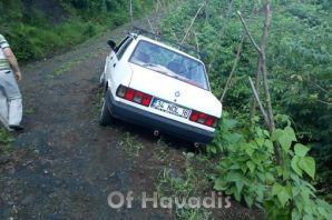 Sefaköy'de kaza ucuz atlatıldı
