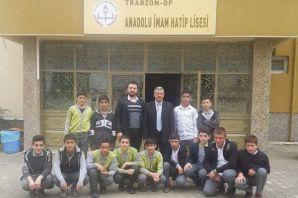 Serince Şehit Fahrettin Yavuz İHO'dan okullara ziy