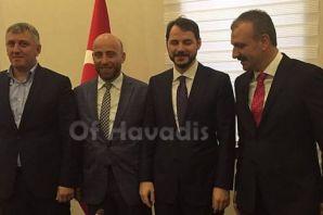 Başkanlardan Bakanlar Soylu ve Albayrak'a ziyaret