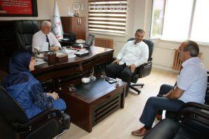 Suriyeli Alradi ailesinden MEM'e teşekkür ziyaret