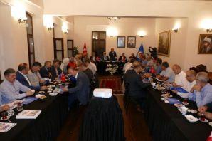 Başkan Gümrükçüoğlu STK temsilcileri ile istişarel