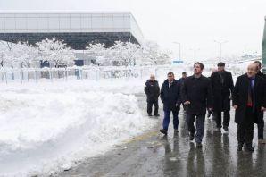 Kar mücadelesi için Büyükşehirden ilçelere 1.3 mil