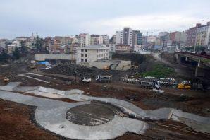 Cudibey Ortaokulu ve öğretmenevi inşaatı hızla dev