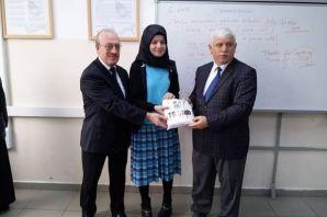 Of'ta TEOG Sınavında başarılı öğrencilere ödül