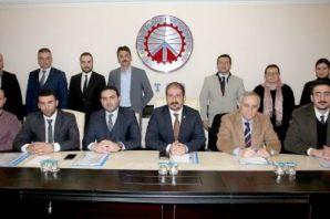 Akyüzlü ve Çakıroğlu Başkan Yardımcılığına seçildi