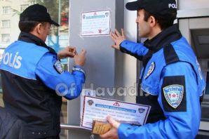 Toplum Destekli Polisler Of ve Hayrat'ta sahada