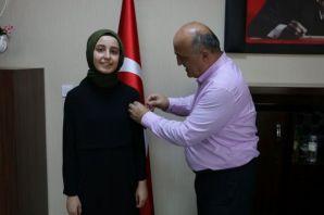 Kabahasanoğlu'ndan Tıp kazanan Ebru Atagün'e altın