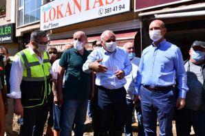 Trabzon Büyükşehir Giresun'a yardım eli uzattı