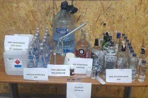 Trabzon Emniyeti'nden kaçak içki operasyonu