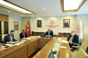 Başkan Zorluoğlu Bakan Ersoy'la turizmi maya yatırdı