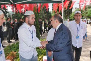 Gümrükçüoğlu ve Yavuz Trabzon'la bayramlaştı