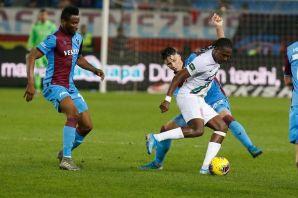 Trabzonspor eski golcüsü Rodallega'yla vuruldu