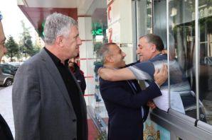 Of Eski Kaymakamı Tunceli Valisi Sonel'i ağırladı