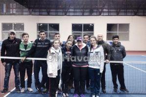 Ulusoy Lisesi teniste ikinci oldu