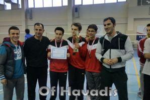 Ulusoy ve Anadolu Liseleri Badminton Şampiyonu