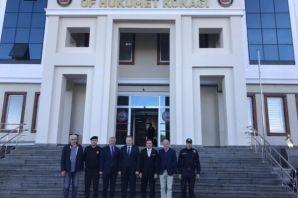 Vali Yavuz'dan Of'a veda ziyareti