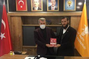 Yeniden Refah'tan Başkan Çapoğlu'na ziyaret