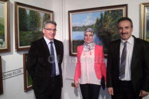 Oflu Ressam Zeynep Bilgin'den sergi