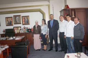 AKHİDER'den Başkan Murat Saral'a ziyaret