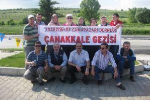 Cumapazarlılar Çanakkale'de