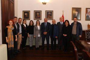 Başkan Zorluoğlu, Baro Yönetimini kabul etti