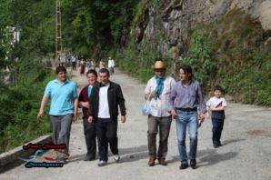 Dernekpazarılılar sağlık için yürüdüler