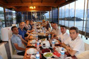 Of Milli Eğitim personeli birlikte iftar yaptı