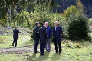 Uzungöl Macera Parkının yapımına başlandı