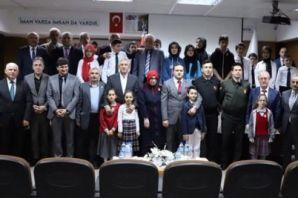 İstiklal Marşı'nın kabulünün 98. Yılı Of'ta kutlan