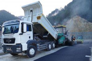 4,5 yılda 331 Milyon liralı asfalt ve beton