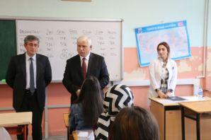 Kabahasanoğlu üniversiteye hazırlık kurslarını ziy