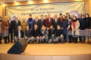 ÖSYM Başkanı Prof. Demir Oflu öğrencilerle buluştu