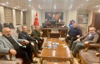 Başkan Sarıalioğlu'ndan Vali Sonel'e ziyaret
