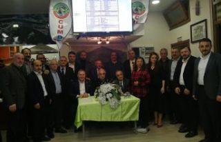 CUMDER'de Yaşar Çakır 4.kez başkan
