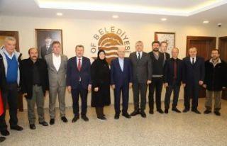 Bakan Bayraktar'dan Başkan Sarıalioğlu'na ziyaret