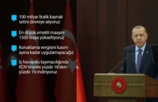 Cumhurbaşkanı Erdoğan'dan Kovid-19'a...