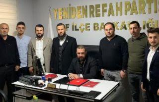 Yeniden Refah'ın Genel Başkan Yardımcıları...
