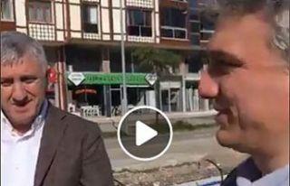 Başkan Sarıalioğlu ve Kaymakam Fırat canlı yayında