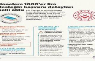 Hanelere 1000'er lira desteğinden kimler yaralanabilecek?