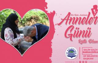 Başkan Sarıalioğlu'ndan Anneler Günü mesajı